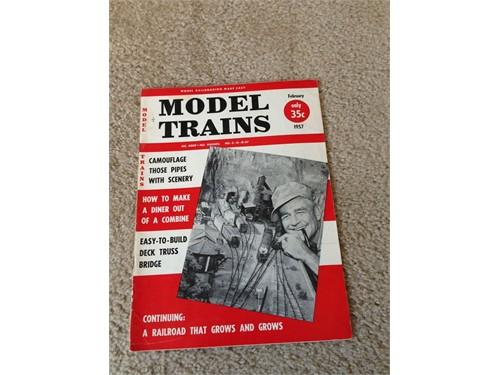 Model Trains Feb 1957