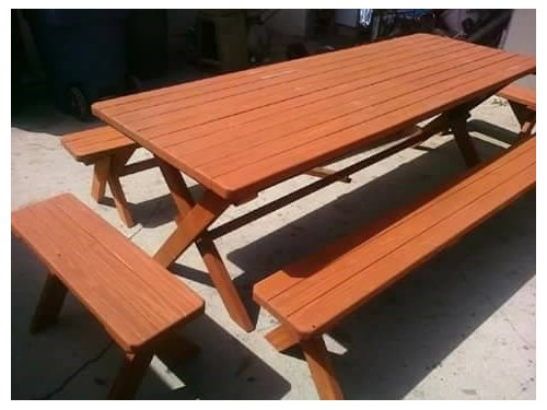 LOS ANGELES PICNIC TABLES