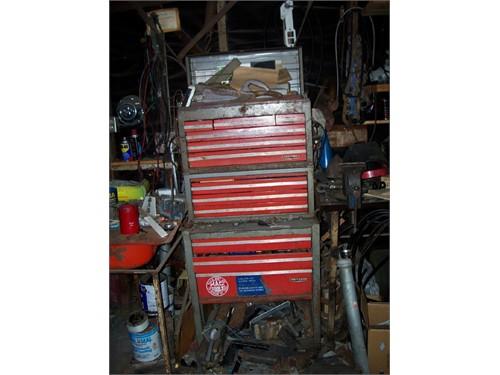 Three piece tool storage