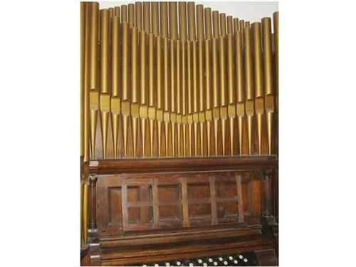 1884 Antique Pipe Organ