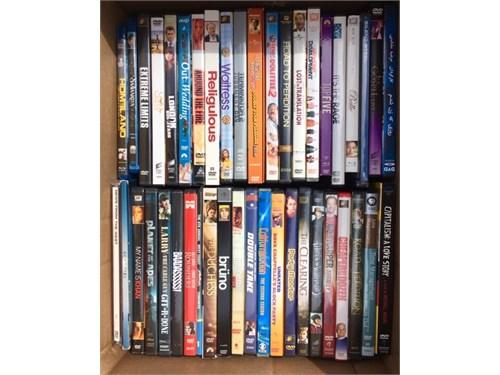 Hundreds of DVDs $.50 ea