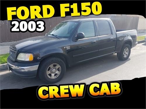 FORD F150 CREW CAB