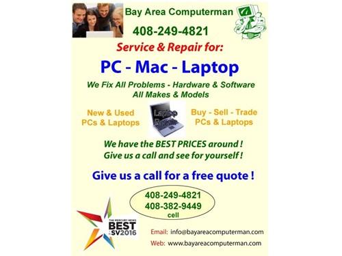 PC, Mac & Laptop Repair