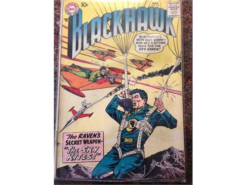 D.C. Blackhawk #122, 1958
