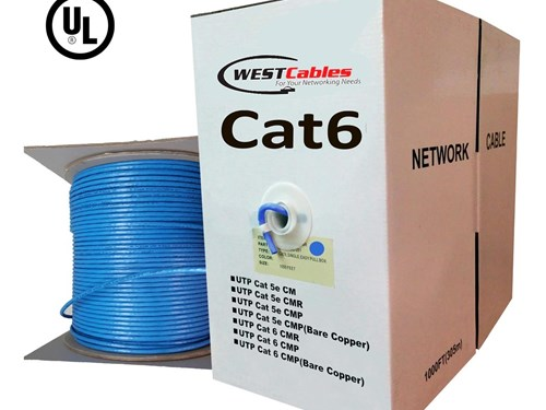 1000FT Cat6A Riser UL