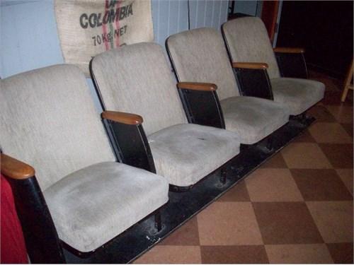 1938 Theater seats