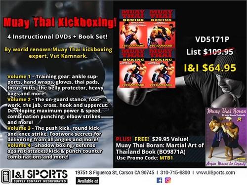 VD5171P 4 Muay Thai DVDs