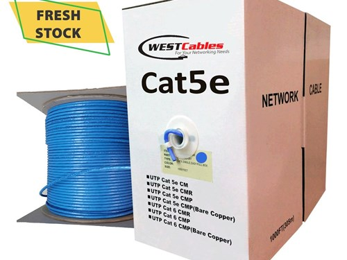 Cat5e Plenum Bulk Cable