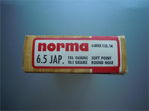 NORMA 6.5 JAPANESE AMMO