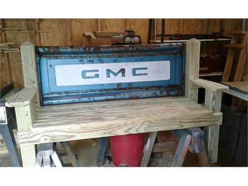 chevy and GMC  bench