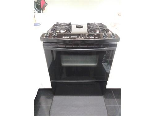 Black Kitchen-Aid drop-in