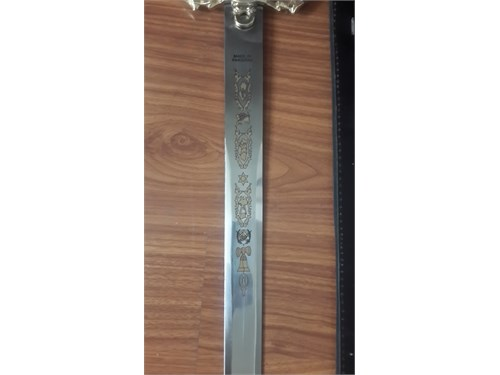 Sword with sheath