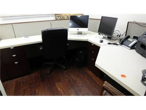 KIMBALL CUBICLE WORK DESK