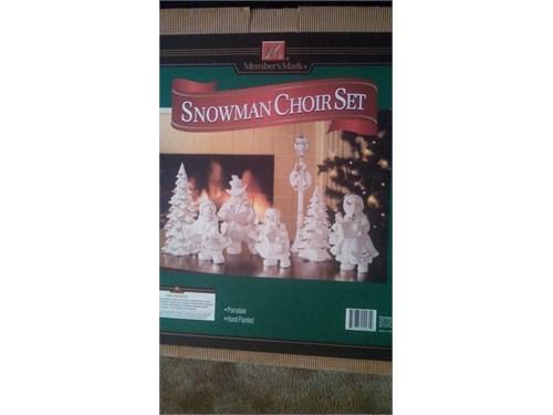Snowman Choir Set