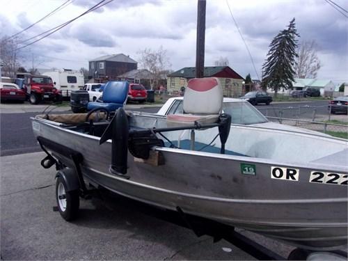 15ft Gregor welded boat