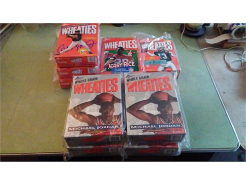Wheaties cereal sports
