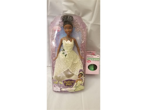 Tiana Doll & Magic Box