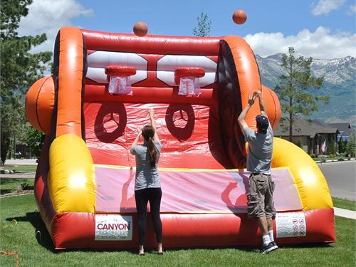 Inflatable Double Shot