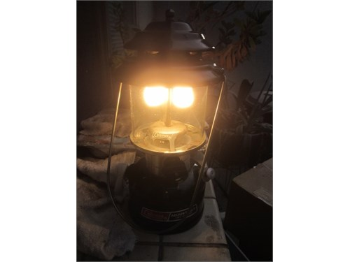 Coleman Fuel Lantern MINT