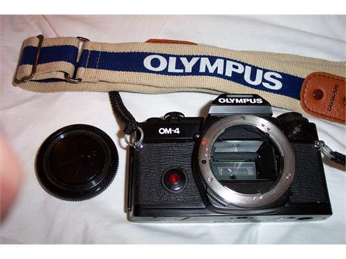 Olympus OM-4 camera