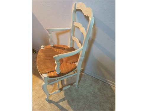 2 Country Wrap Chairs $30