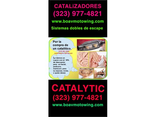 CATALYTIC FLOW MASTER