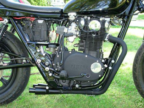 XS 650 Exhaust X-PIPEtm