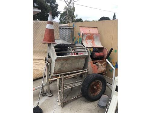 Plastering mixer