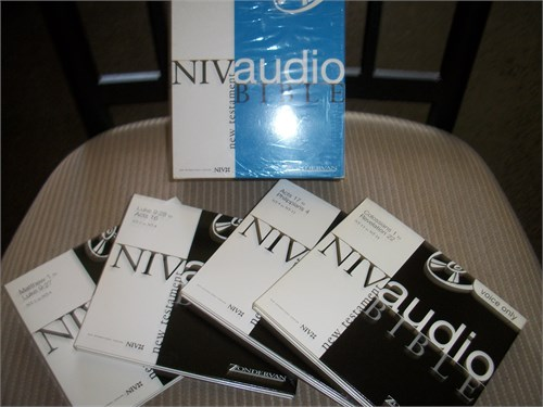 NIV Audio Bible-New Test.