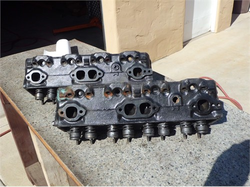 CHEVY 267 REBUILT HEADS
