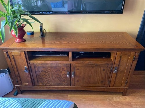 Wood Cabinet; TV Stand