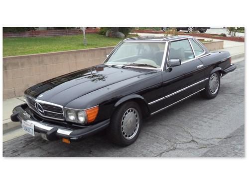 Mercedes 450 Convertible