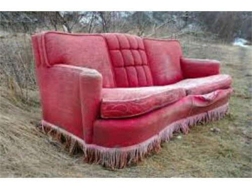 Couch & Recliner disposal