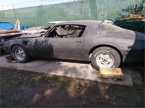77 Pontiac firebird