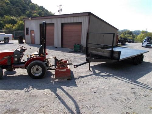 16'x8' steel farm trailer