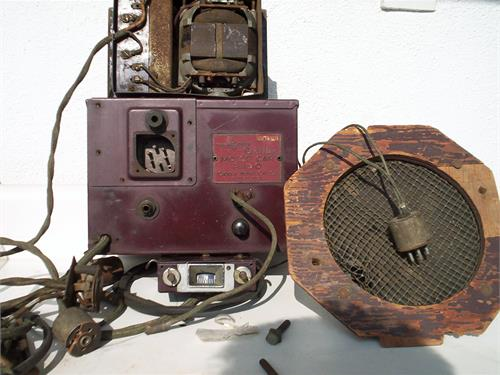 Cadillac 1932 radio