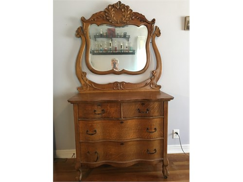 Oak Dresser Antique