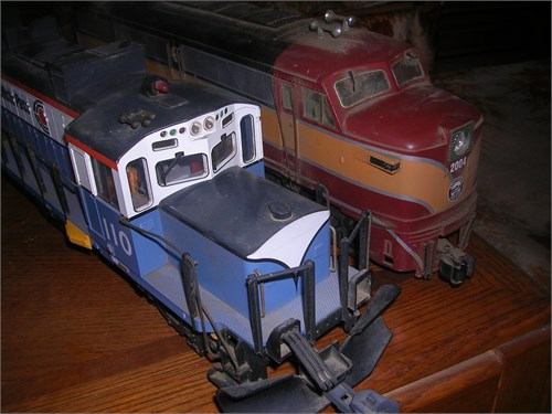 Two med,trains hobby