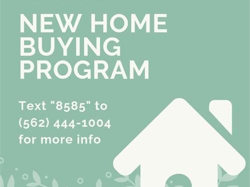 NEW Home Buying Program