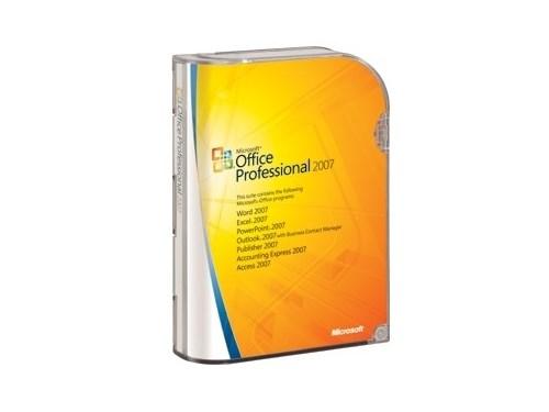 MS OFFICE PRO 2007 - $200