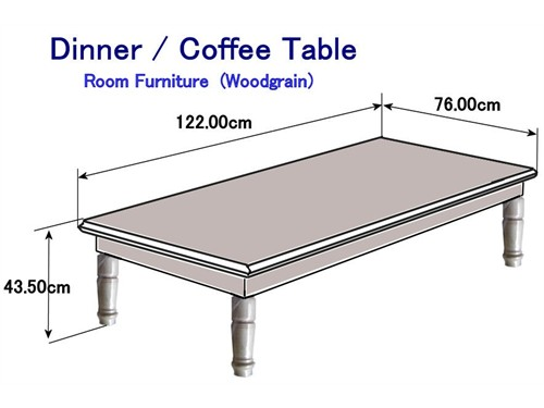 Dinner Coffee wood Table