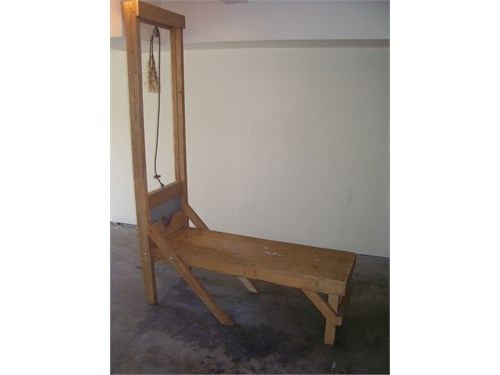 Guillotine Prop for Sale