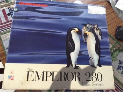 Emperor 280 filter system