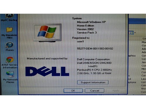 Dell Dimension 2400