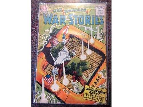 D.C. SSWS #52, 1956 Comic