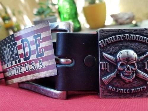 Harley skull belt sz 32