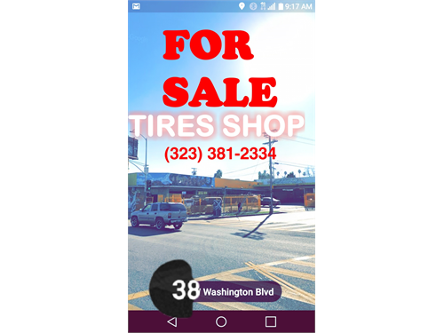 FOR SALE TIRES SHOP