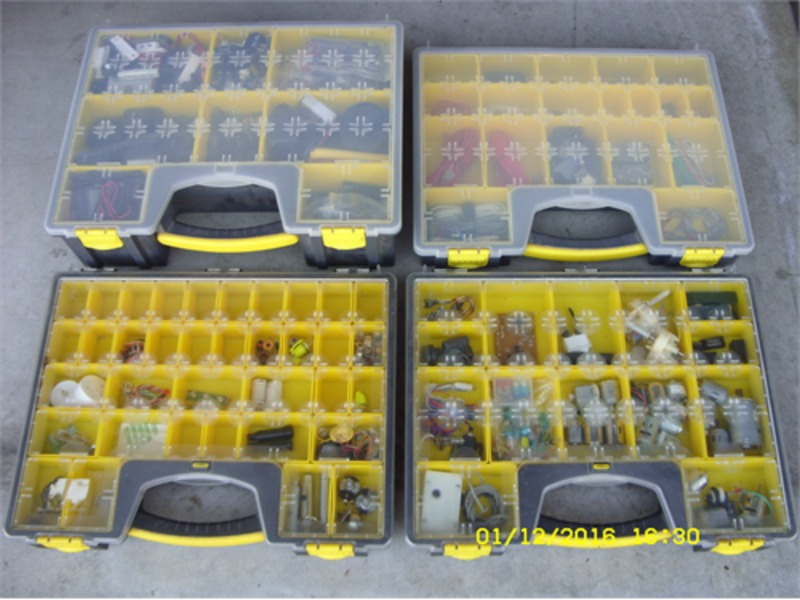 Small parts organizers