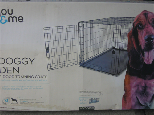 dog/puppy training crates