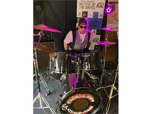 Pearl 5 piece drum kit